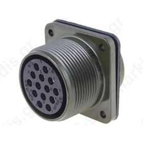 Connector military socket female PIN:14