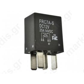 Relay electromagnetic SPST-NO 12VDC 25A automotive
