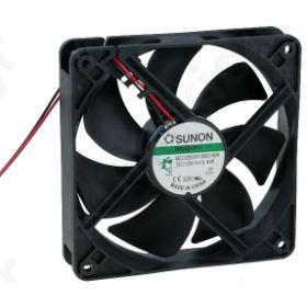 BLOWER DC axial 12VDC 120x120x25mm 127.4m3/h 34dBA