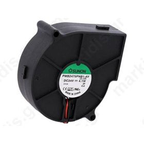 Fan DC blower 24VDC 75x75x30mm 23.11m3/h 43.5dBA