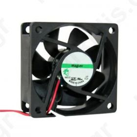 Fan: DC axial 12VDC 92x92x25mm 2W 3 ΚΑΛΩΔΙΩΝ