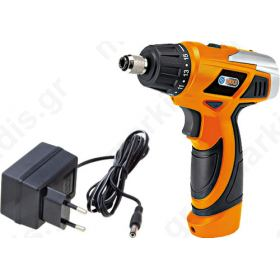 Electric screwdriver battery,pistol 7.2V Charge time: 5-8h