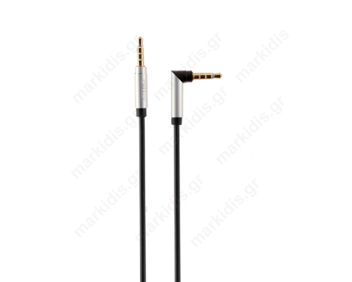 ΚΑΛΩΔΙΟ AUDIO JACK 3.5mm M/M 1m
