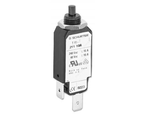 Circuit breaker Urated 240VAC 48VDC 6A
