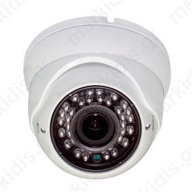 ΚΑΜΕΡΑ DOME IP ANGA AQ-2215RIPD 2MP 2.8mm 1080P@15fps IR Distance 20M IP66