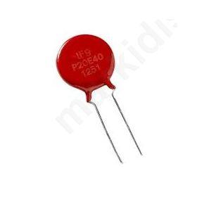 Varistor: metal-oxide THT 50VAC 68VDC 82V 4.5kA