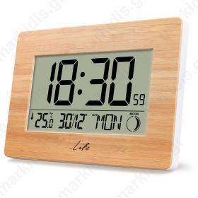LIFE Bamboo Clock XL
