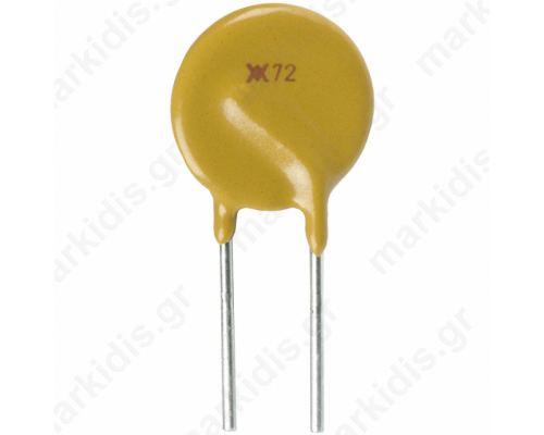 Fuse PTC polymer 1.1A Pitch 5mm
