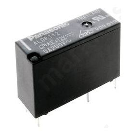 Relay electromagnetic SPST-NO 24VDC 5A/277VAC 3A/30VDC