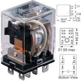 RELAY OMRON LY2  24VDC