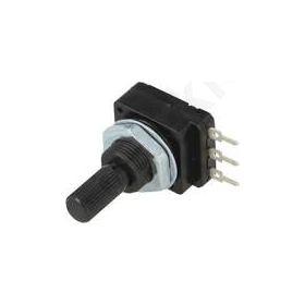 Ποτενσιόμετρο αξονικό μονόστροφο 47ΚΩ 60mW PCB 6mm πλαστικό