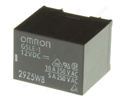 Relay: electromagnetic SPDT Ucoil: 5VDC 10A/240VAC 8A/30VDC