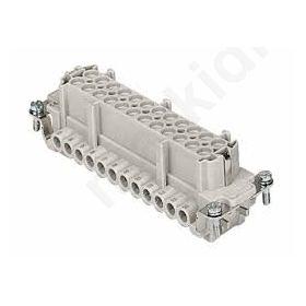 Connector HDC female CNE PIN: 24 24+PE size 104.27 16A 500V CNEF24TN