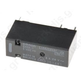 Relay electromagnetic SPDT Ucoil: 5VDC 8A/250VAC 5A/30VDC