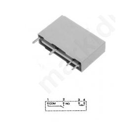 Relay electromagnetic SPST-NO Ucoil: 5VDC 5A/250VAC 5A/30VDC