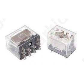Relay electromagnetic 24VAC 10A/110VAC 10A/24VDC