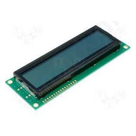 ΟΘΟΝΗ LCD 2X16 ΠΡΑΣΙΝΗ 16Pin - RC1602B-GHY-CSXD