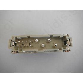Σύνδεση HDC αρσενικά CX  PIN12(4+8)  μέγεθος 104.27 400/690V