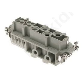Σύνδεση HDC θηλυκά CX PIN 12(4+8) μέγεθος 104.27 400/690V
