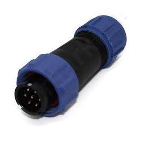 φύσα αρσενική 7 PIN IP68 4-6,5mm 5A 125V
