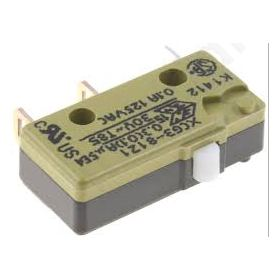 Microswitch SNAP ACTION without lever SPDT 10A/250VAC