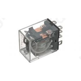 Relay electromagnetic 4PDT Ucoil 24VDC 10A/110VAC 10A/24VDC OMRON