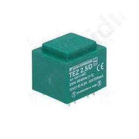 Μετασχηματιστής Πακτώμενος  1X12V 2.4VA 200ΜΑ