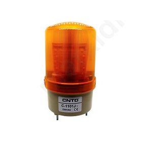 ΦΑΡΟΣ ΜΕΣΑΙΟΣ LED 85X160 +BUZZER 230VAC ΚΙΤΡ. CNTD