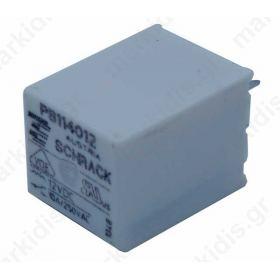 Relay electromagnetic SPDT Ucoil 12VDC 10A/250VAC  400 Ω PB114012