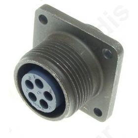 Connector circular Series 97 socket female PIN 5 soldering