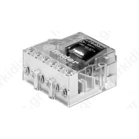 Relay installation bistable NC + NO Ucoil 12VAC 10A -40-40°C