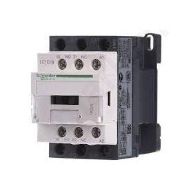CONTACTOR 3-pole NOx3;V Auxiliary contacts NO+NC 24VAC 18A LC1D18B7