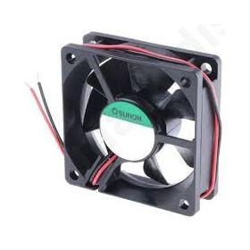 BLOWER DC axial 12VDC 60x60x25mm 39.72m3/h 27dBA slide bearing EE60251S1-999-A
