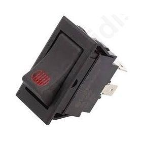 ΔΙΑΚΟΠΤΗΣ OFF-ON 20A/12VDC ΜΑΥΡΟΣ ΜΕ LED 21.2x37.9mm