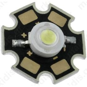 POWER LED white cold 120° 1W