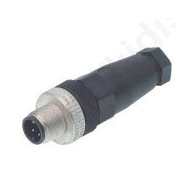 Φυσσα M12  PIN: 4 αρσενικη καλωδιου  IP67 ELST4012PG7