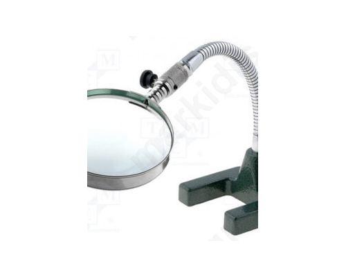 Επιτραπέζιος μεγεθυντικός φακός; Μεγ: x2; Φακός: O89mm