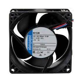 Fan: DC axial 80x80x38mm; 130m3/h; 55dBA ball bearing 8400rpm