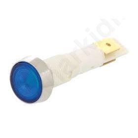 Ελέγχου LED επίπεδη 12VDC 12VAC Ανοίγμ: Φ10 mm πλαστικό