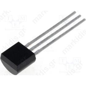 2N7000-G, N-MOSFET; 60V; 75mA; TO92