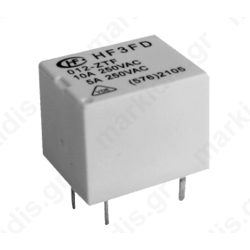 Relay electromagnetic SPST-NO 12VDC 10A/250VAC